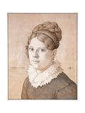 Portrait of Henriette Schnorr Von Carolsfeld  1817