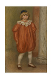 Claude Renoir in Clown Costume  1909