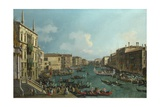 A Regatta on the Grand Canal  C 1740
