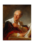 Portrait of Denis Diderot  Ca 1769