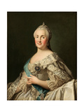Portrait of Empress Catherine II (1729-179)  C 1780