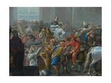 Carnival in Rome (Detail)  C 1650