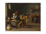 Peasants Making Music in an Inn  C 1635