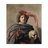 Young Man Holding a Skull (Vanita)  1627