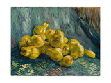 Still Life with Quinces  1887-1888