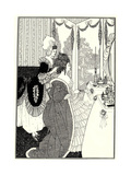 The Toilet (Illustration for the Rape of the Lock by Alexander Pop)  1894