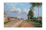 Route De Versailles  Rocquencourt  1871