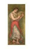 Dancing Girl with Tambourine  1909