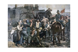 The Miner's Strike in Carmaux  1892