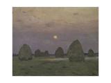 Twilight  the Haystacks  1899