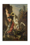 Saint George and the Dragon  1889-1890