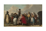 The Venetian Charlatan  Ca 1764-1765