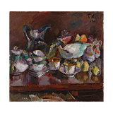 Still Life with Coffee Cups  1912