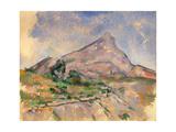 Mount Sainte-Victoire  1897-1898