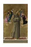 Saint Francis of Assisi with Angels  Ca 1475