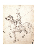Lancer on Horseback  1502