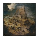 The Tower of Babel  Ca 1595