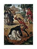 The Death of Saint Peter of Verona  1493-1499