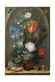 Flower Still Life with Two Lizards  1603