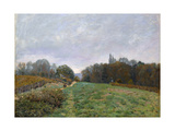 Landscape at Louveciennes  1873