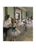 The Ballet Class  Between 1871 and 1874