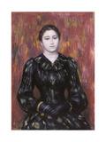 Portrait of Mme Paulin  1885-1890