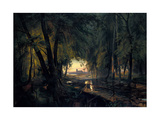Forest Path Near Spandau  1835