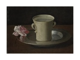 A Cup of Water and a Rose  C1630