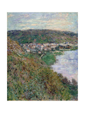 View of Vétheuil  1880