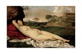 Sleeping Venus, 1508-1510 Giclée par Giorgione