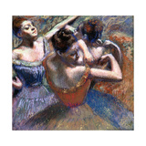 The Dancers, 1899 Giclée par Edgar Degas
