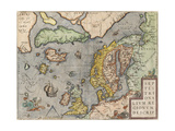 The Baltic Sea (From: Theatrum Orbis Terraru)  C 1608-1610