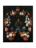 Garland of Flowers  Ca 1675