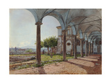 View from Sant'Onofrio on Rome  1835