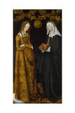 Saints Christina and Ottilia  1506