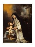 Saint Rose of Lima  1670