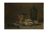 Still Life with Oysters  1875-1877