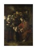 Christ Blessing the Children  1652
