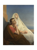 Saints Augustine and Monica  1854