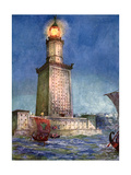 The Pharos of Alexandria  Egypt  1933-1934
