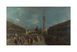 Venice  Piazza San Marco  Ca 1760