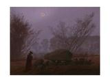A Walk at Dusk  1830-1835