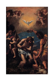 The Baptism of Christ  1585-1590