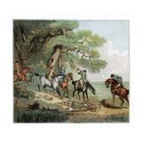 The Kill  Fox Hunting  1787