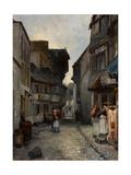 A Street in Landerneau  1851