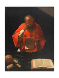 Saint Jerome Reading (Cop)  Ca 1636