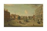 Four Views of London: the Privy Garden  Whitehall