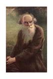 Portrait of the Author Leo N Tolstoy (1828-191)  1910