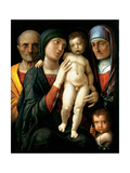 The Holy Family  C 1495