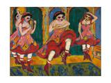 Czardas Dancers, 1908-1920 Giclée par Ernst Ludwig Kirchner